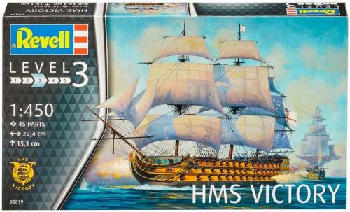 revell Revell Admiral Nelson; 1:450; 10+ (5819)