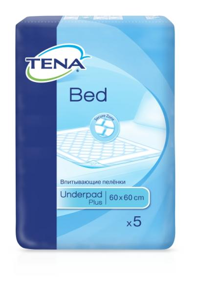 tena TENA Bed Plus 60x60 см 5 шт (7322540801910)