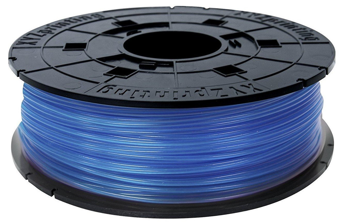 XYZprinting 1.75мм/0.6кг PLA Filament для da Vinci, прозрачный синий (RFPLBXEU05J)