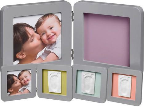 baby art Baby Art Double Print Frame Grey (34120139)