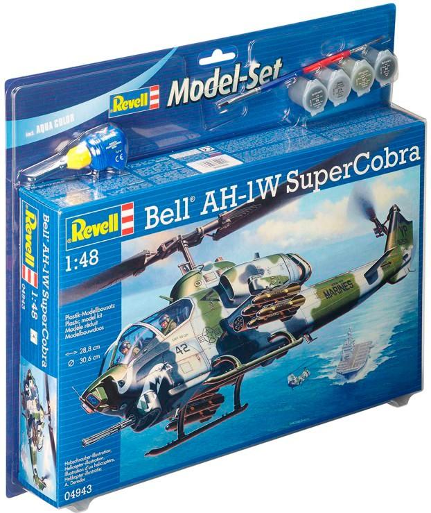 revell Revell Control Model Set Bell AH-1W SuperCobra (64943)