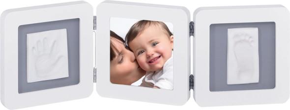 baby art Baby Art Double Print Frame white & grey (34120052)