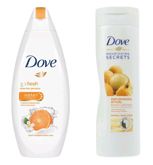 dove DOVE Изысканное восстановления (250мл+250мл) (8714100918548)