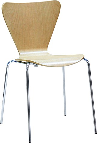art metal furniture (amf) AMF Стул Левис хром Бук (58501)