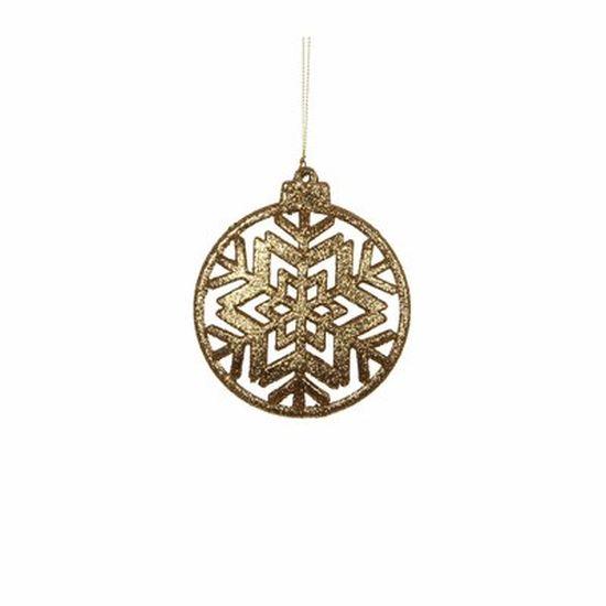 christmas house Christmas House Украшение декоративное Снежинка симметричная, золото (1035934)