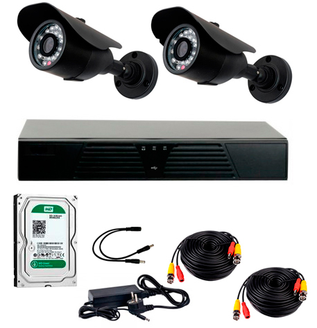 covi security CoVi Security AHD-2W KIT + HDD500 (9346)