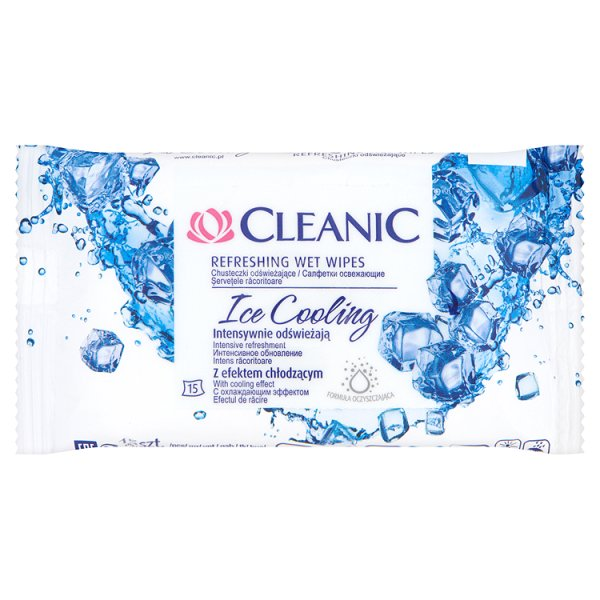 cleanic CLEANIC Ice Cooling 15 шт.(5900095009160)