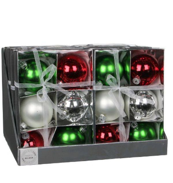 christmas house Christmas House 6 шт, красно-зеленый (1013771)