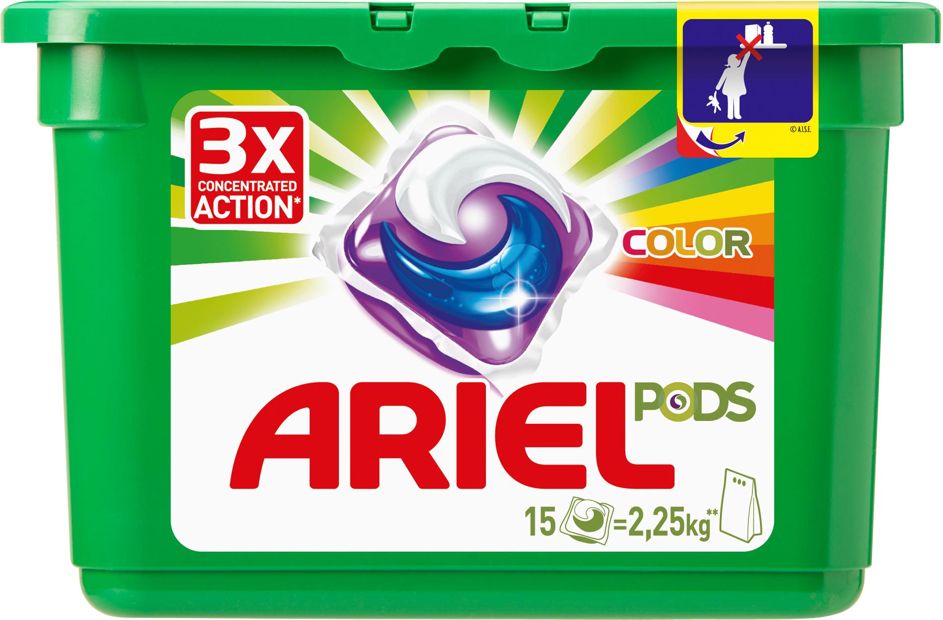 ariel ARIEL PODS Color & Style 15 шт Автомат (4015600949822)