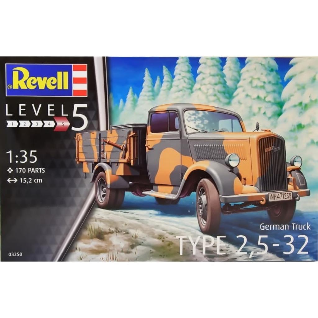 revell Revell Control Грузовик Type 2.5-32;1:35 (3250)