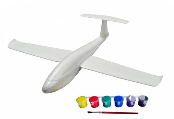 j-color J-Color Планер метательный J-Color Falcon 600мм c комплектом красок (JC-30319)