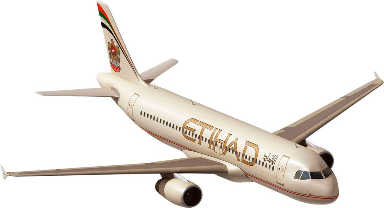 revell Revell Airbus A320 Etihad; 1:144 (03968)