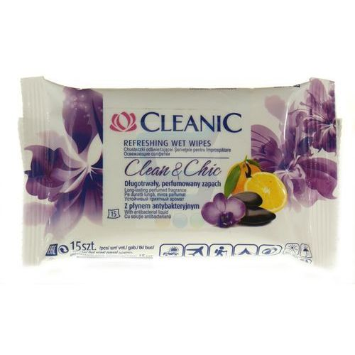 cleanic CLEANIC Clean&Chic 15 шт.(5900095011293)