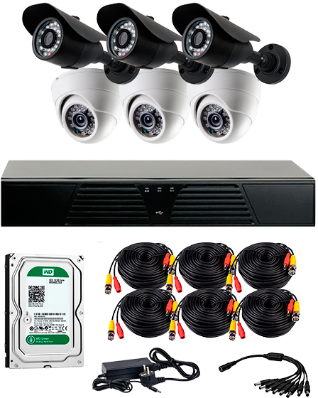 covi security CoVi Security AHD-33WD KIT + HDD1000 (9355)