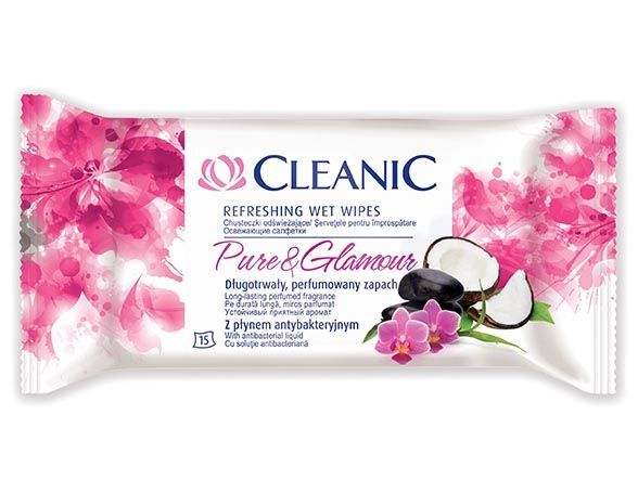 cleanic CLEANIC Pure&Glamour 15 шт. (5900095009146)