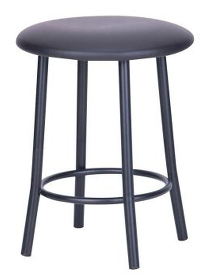 art metal furniture (amf) AMF Талли черный кожзам черный (57913)