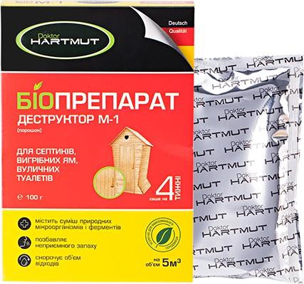 doktor hartmut Doktor Hartmut биопрепарат-деструктор М-1 (4260349572002)