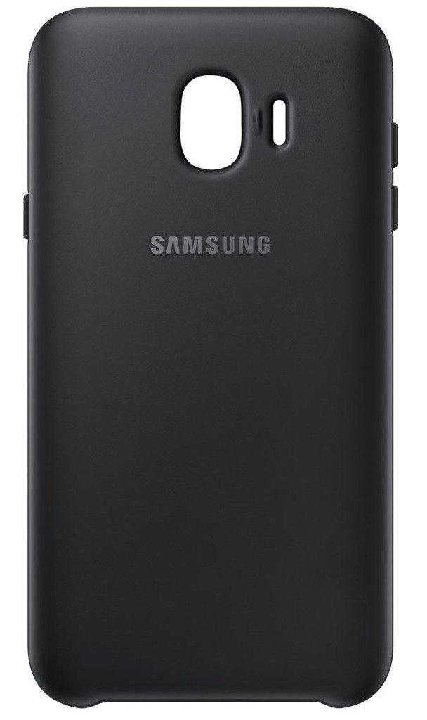 Акция на SAMSUNG J4 2018/J400 Dual Layer Cover Black (EF-PJ400CBEGRU) от Repka