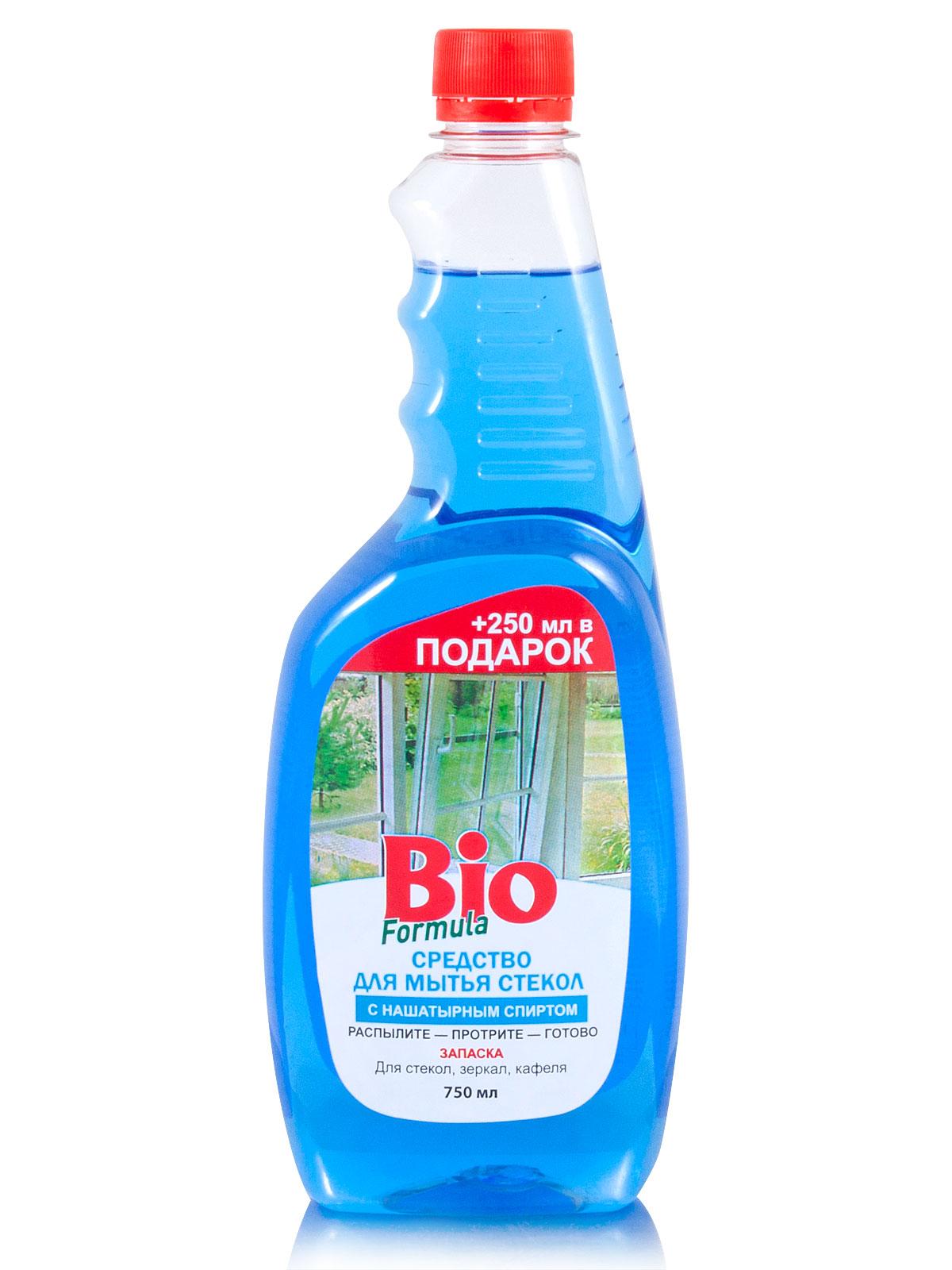 bio BIO Formula Для мытья стекол с нашатырным спиртом (запаска) 750мл (4823015925856)