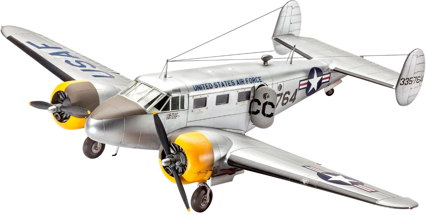 revell Revell Control C-45F Expeditor;1:48;12+ (03966)