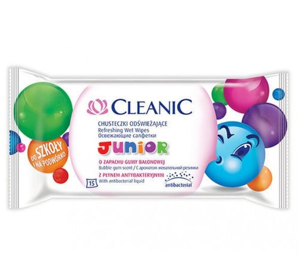 cleanic CLEANIC Junior детские 15 шт.(5900095018872)