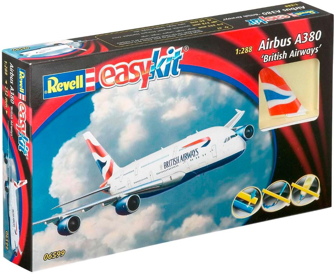 revell Revell Easy Kit.Аэробус Airbus A380 British Airways;1:288 (06599)