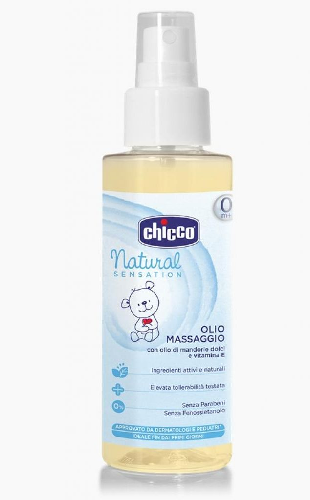 chicco CHICCO Natural Sensation для массажа 100 мл (07454.10)