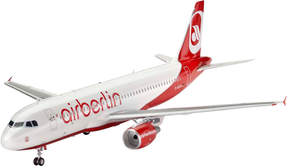 revell Revell Model Set Аэробус Airbus A320 AirBerlin 1:144