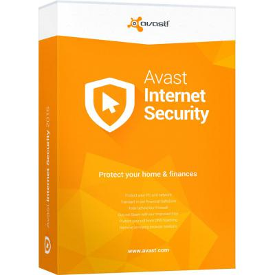 avast Avast Internet Security 3 ПК 1 год (новая лицензия) (AVAST-IS-8-B-1Y-3P)