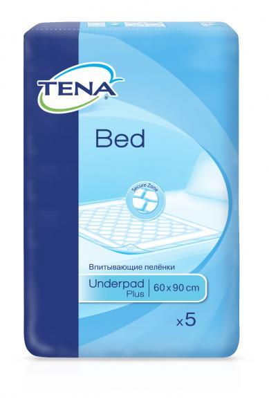 tena TENA Bed Plus 60x90 см 5 шт (7322540801934)