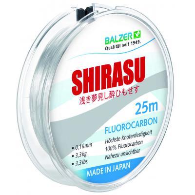 balzer Balzer Shirasu Fluorocarbon 0.14мм 25м (12092 014)